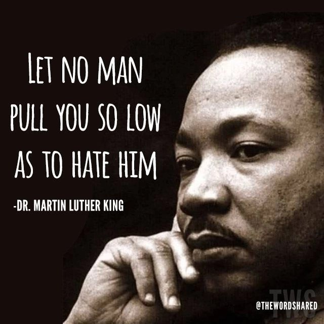 martin luther king - let no man
