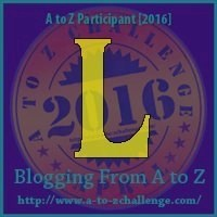 L - Lindy Hope (AtoZ Challenge 2016)
