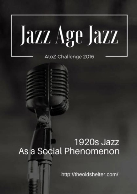 Jazz Age Jazz - Born in shady places in the South of the US, inside the African American community, jazz finds its roots in blues and the hardship it expresses, but also looks with hope to the future. In the 1920s, it spoke of the freedom a prosperous society can offer and the change working on the minds of people even when that freedom isn't achieved