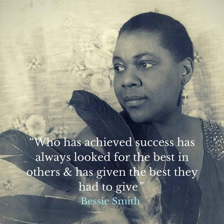 Bessie Smith quote