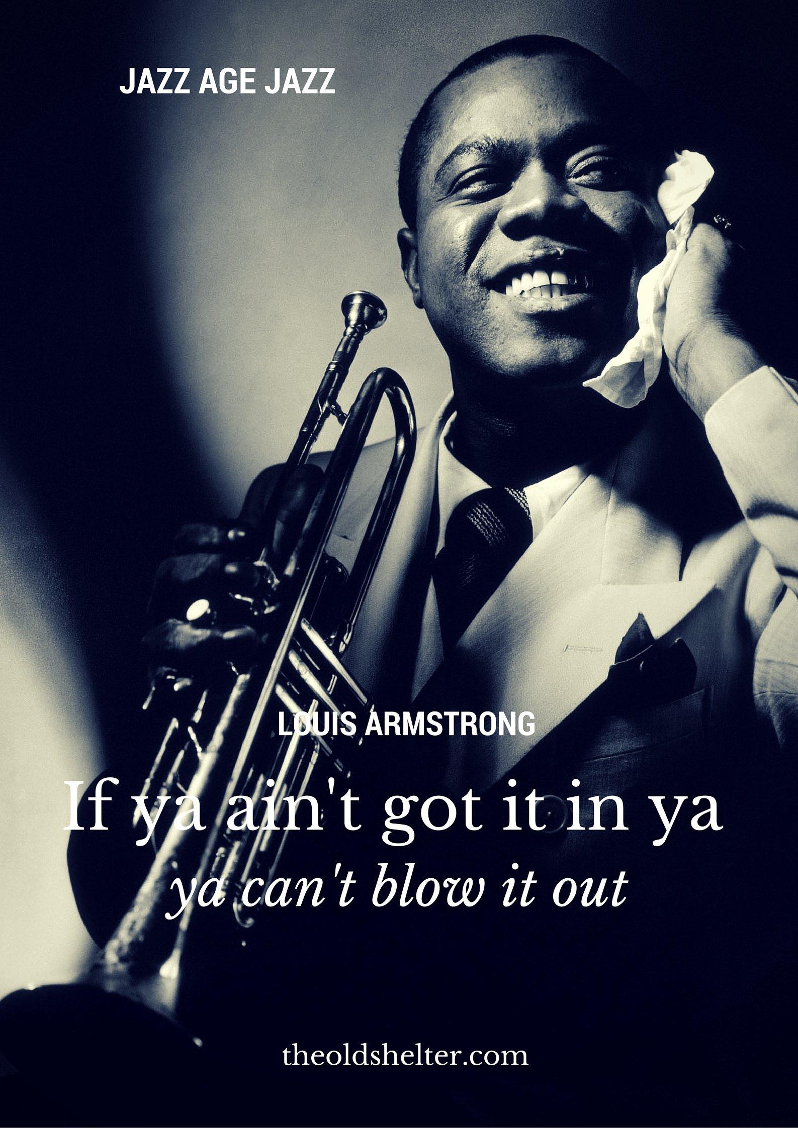 Quotes Atoz Challenge Jazz Age Jazz