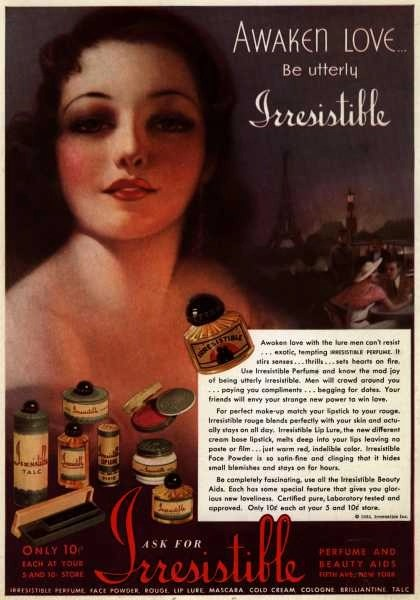 Irresistible makeup 1920s