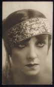 """Bertie (Bertee) Beaumont (1889-1934) - Musical comedy and vaudeville performer in the early 1900's. An excellent dancer and skilled comedienne, the sleek, sultry Beaumont went on to play vamps and sophisticated """"other women"""" on the Broadway stage, She appeared in one film, """"The Lightning Warrior"""" (1931)"""