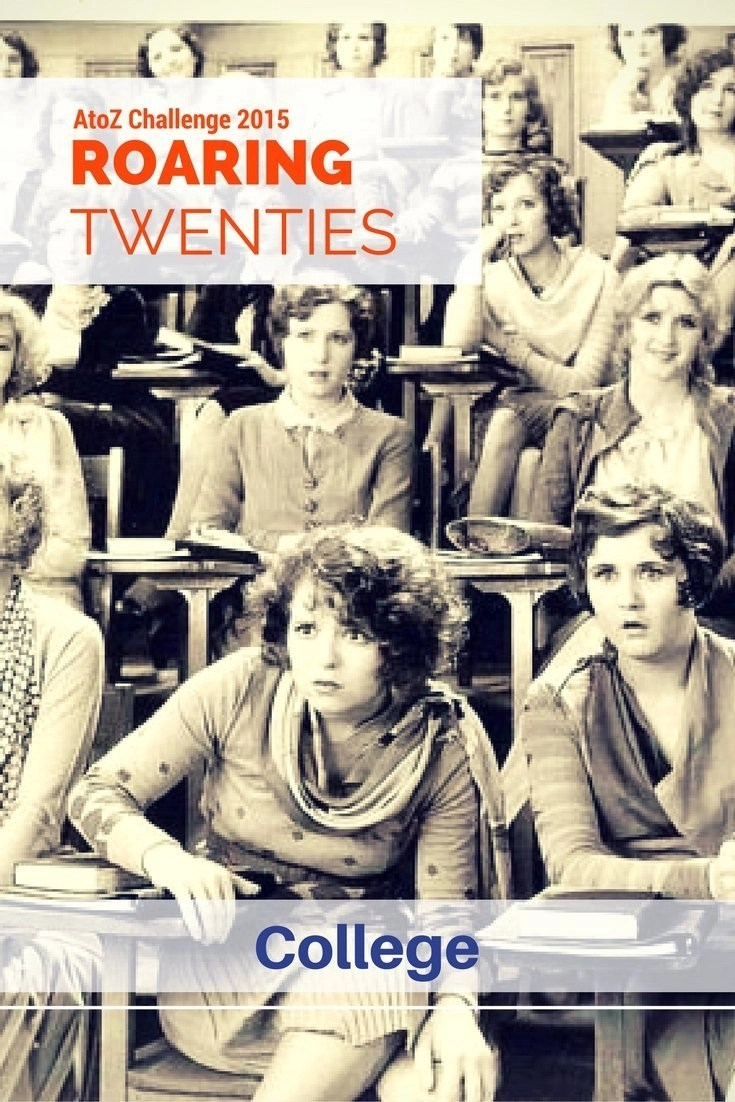 Roaring Twenties AtoZ - C is for College