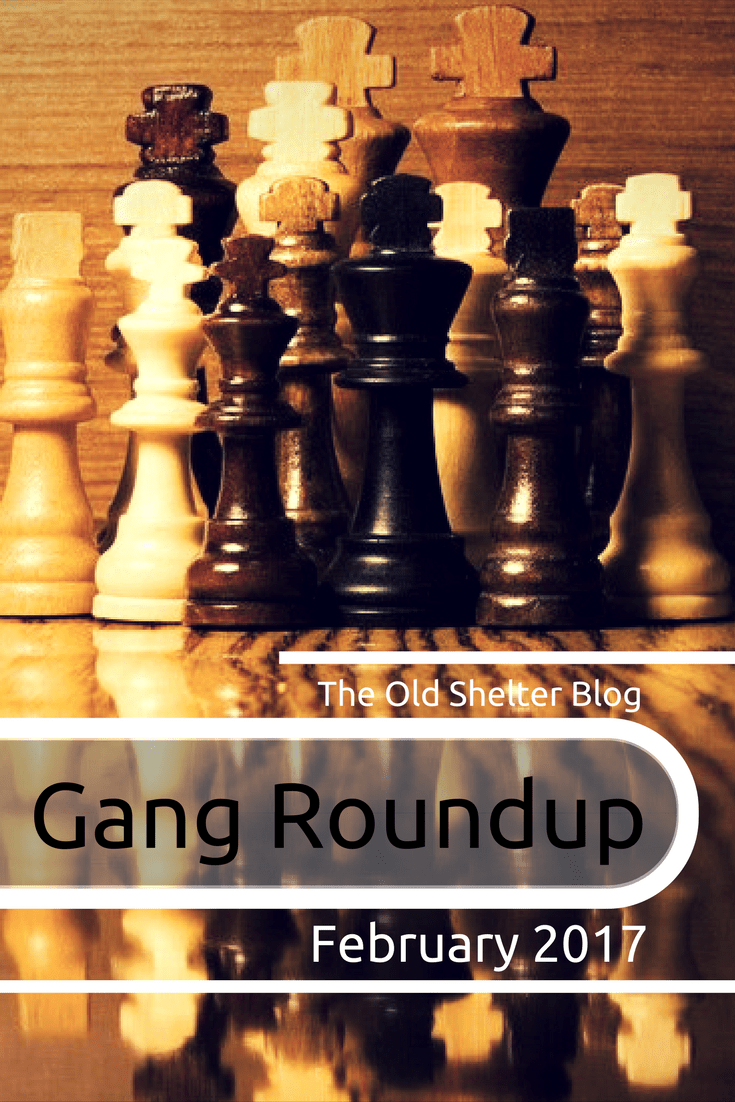 Gang Roundup - February 2017 - A collection of posts about dieselpunk and history, plus some books and videos