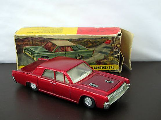 Nicky Toys India 170 Lincoln Continental Metallic Red Dinky Toys