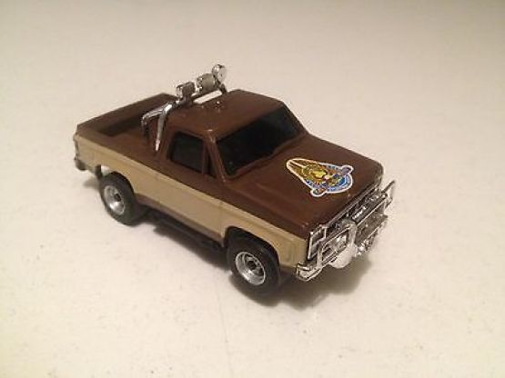 AFX AURORA FALL GUY CHEVY PICK UP TRUCK HO SLOT CAR - The
