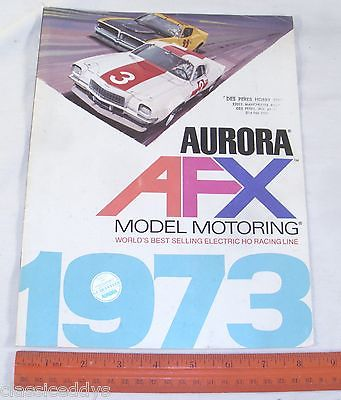 AURORA AFX 1973 HOBBY STORE SLOT CAR CATALOG - The Old Toy Guide