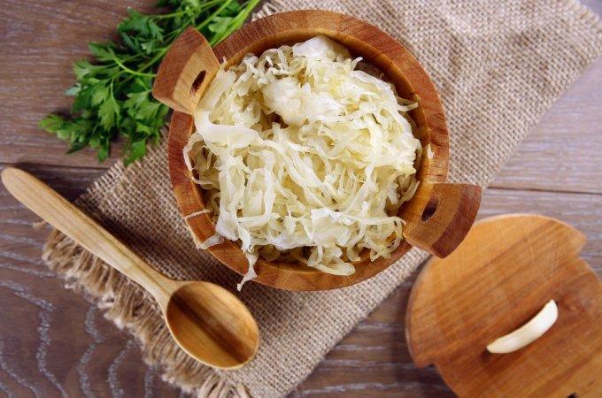 how to ferment sauerkraut