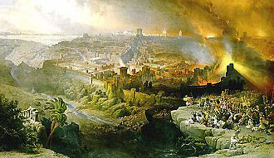 Siege of Jerusalem by the Roman army, the people of the prince Daniel 9