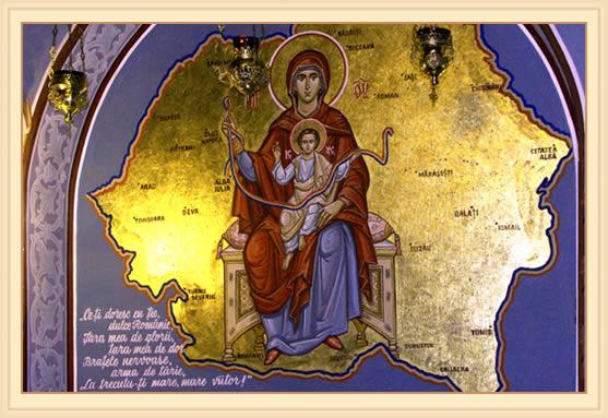 Maica Domnului ocroteste Romania Mare