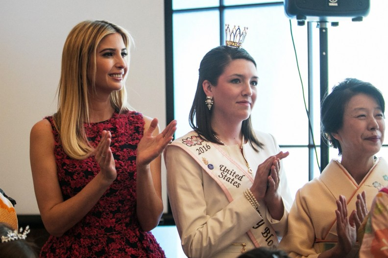Ivanka Trump Kushner And Ladies, Japanese Cherry Blossom Festival