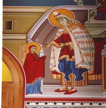 聖母進殿節:默想 The Entrance of the Theotokos (Meditation)