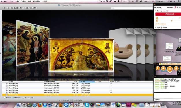 神顯節:聖像畫解說 (畫家于涓) The Icon of Theophany (Pelagia's Video)