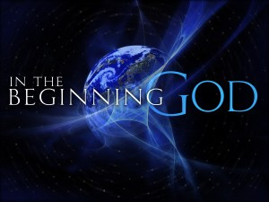in the beginning - genesis 1