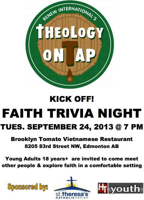 theology on tap edmonton