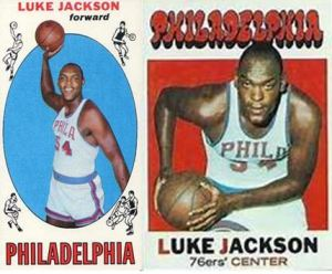 Luke Jackson basketball card