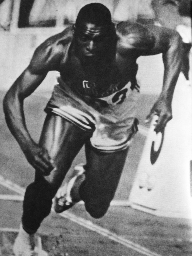 "Bob Hayes, from the book ""Tokyo Olympiad 1964_Kyodo News Service"""