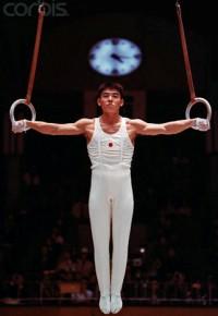 Takuji Hayata in the 1964 Tokyo Olympics