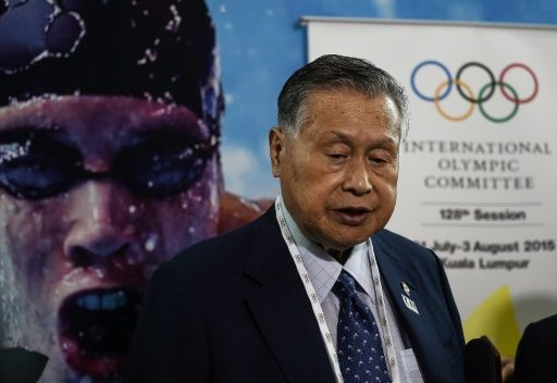 Tokyo's chief Olympic organizer, Yoshiro Mori