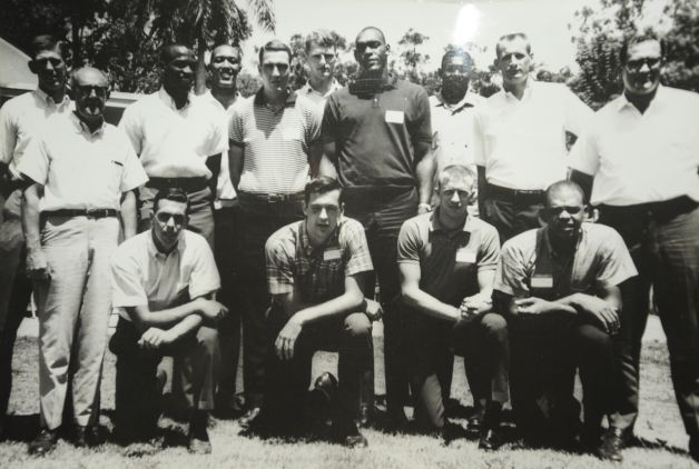 Men's Basketball Team Photo in Hawaii