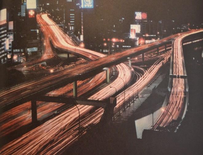 "Expressway Akasaka Mitsuke, from the book ""Tokyo Olympiad 1964_Kyodo News Service"""