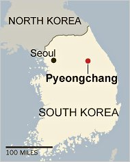south korea map pyeongchang Putting Pyeongchang On The Map Your Host For The 2018 Winter