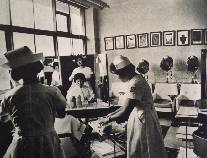 Hair Salon in Olympic Village, from the book