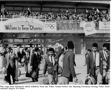 """From the book, """"The Games of the XVIII Olympiad Tokyo 1964"""""""