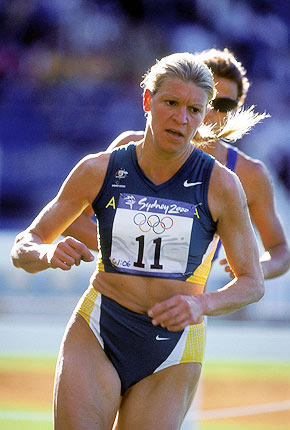 Kitty Chiller, Australian pentathlete in the 2000 Sydney Games