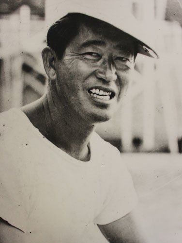 Soichi Sakamoto, founder of the Three Year Swim Club in Maui and coach of champions