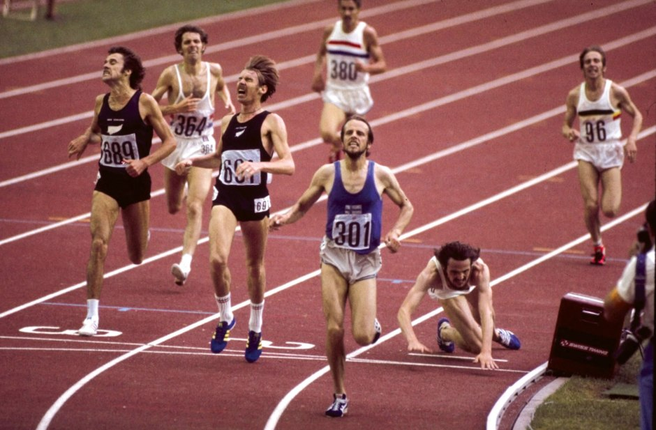 Lasse Viren wins 5000m gold in Montreal