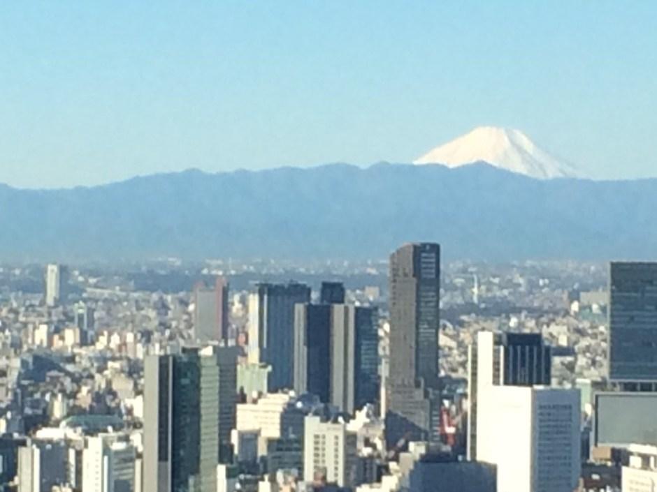 Mt Fuji from Roppongi