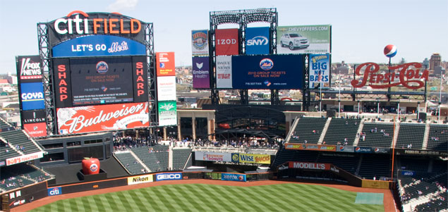 citi field not so clean venue