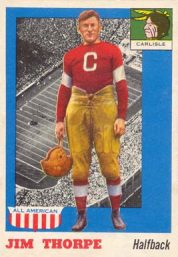 jim thorpe card