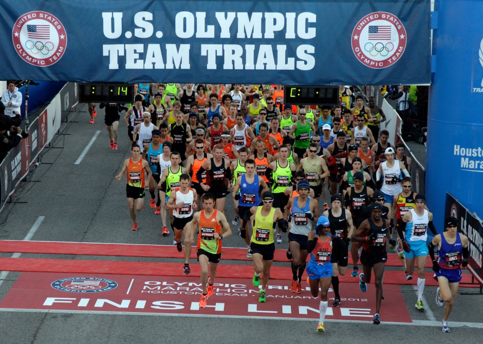 US Olympic Marathon Trials 2012
