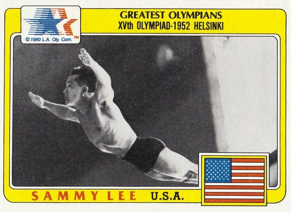 Sammy Lee card