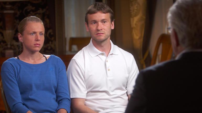 Yuliya and Vitaly Stepanov on 60 Minutes