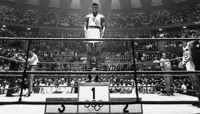 Cassius Clay wins gold in rome