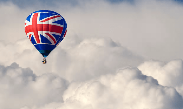 Great Britain balloon