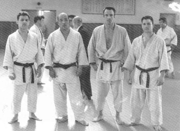 Reay Miura Hoare Bregman at Kodokan