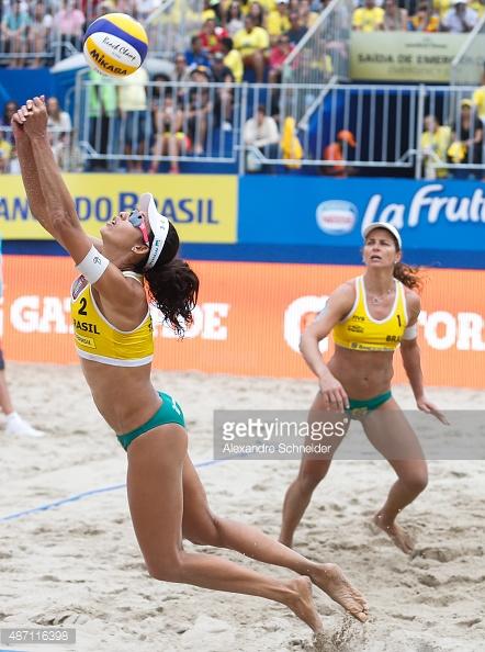 Talita Antunes and Larissa Franca