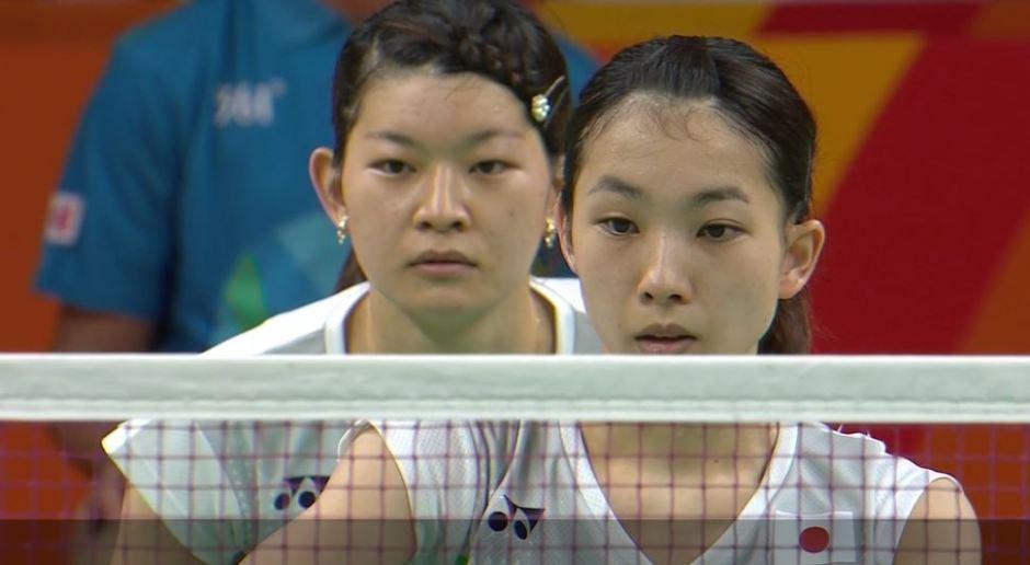 Ayaka Takahashi and Misaki Matsutomo