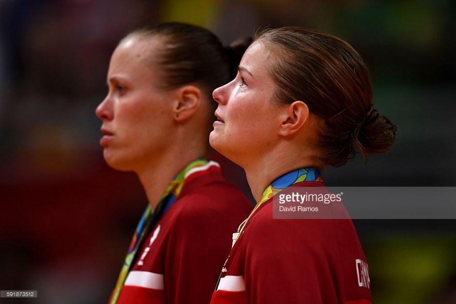 Juhl and Pedersen get their silver medals
