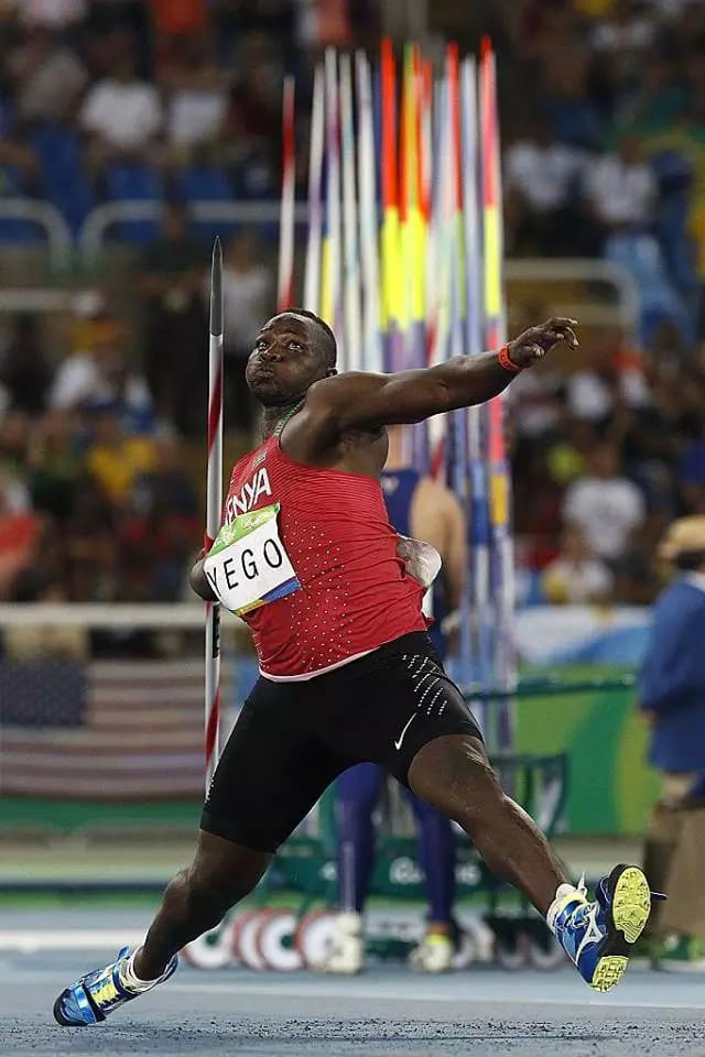 Julius Yego and his only Javelin Throw
