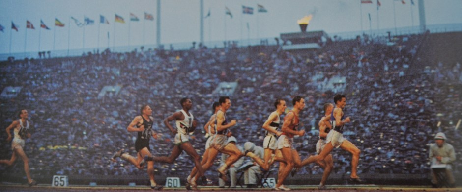 Bob Schul and 5000 meter race_The Olympic Century - XVIII Olympiad - Volume 16.jpg