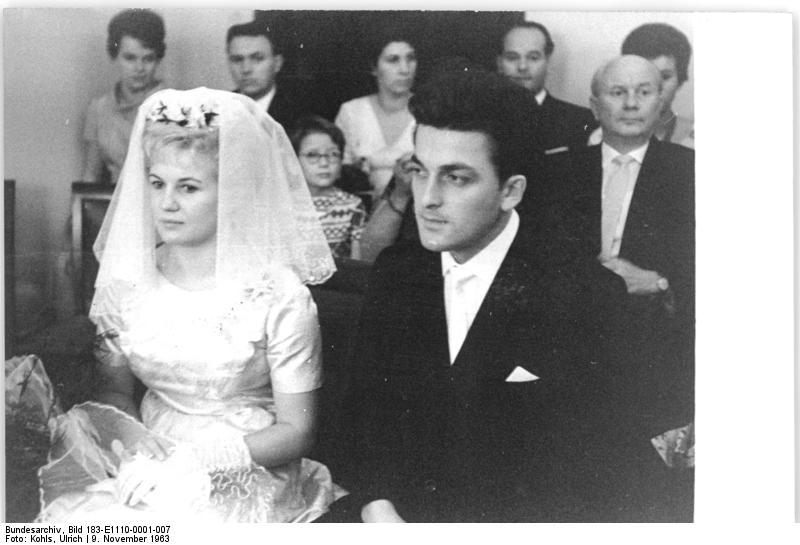 Dresden, Heirat Ingrid Krämer, Hein Engel