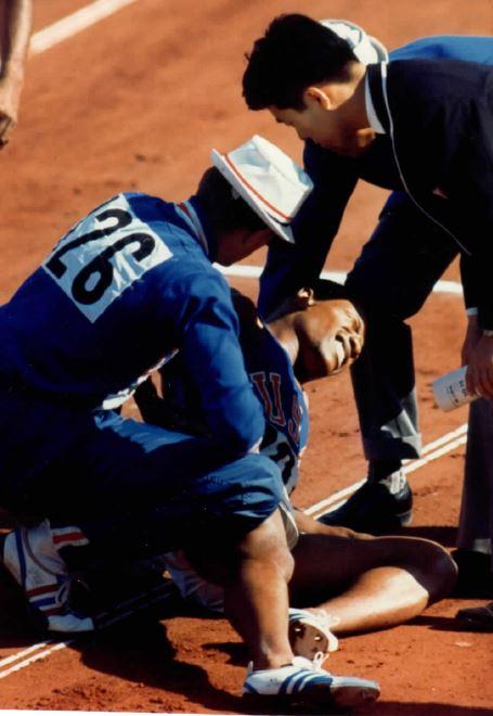 Mel Pender injured