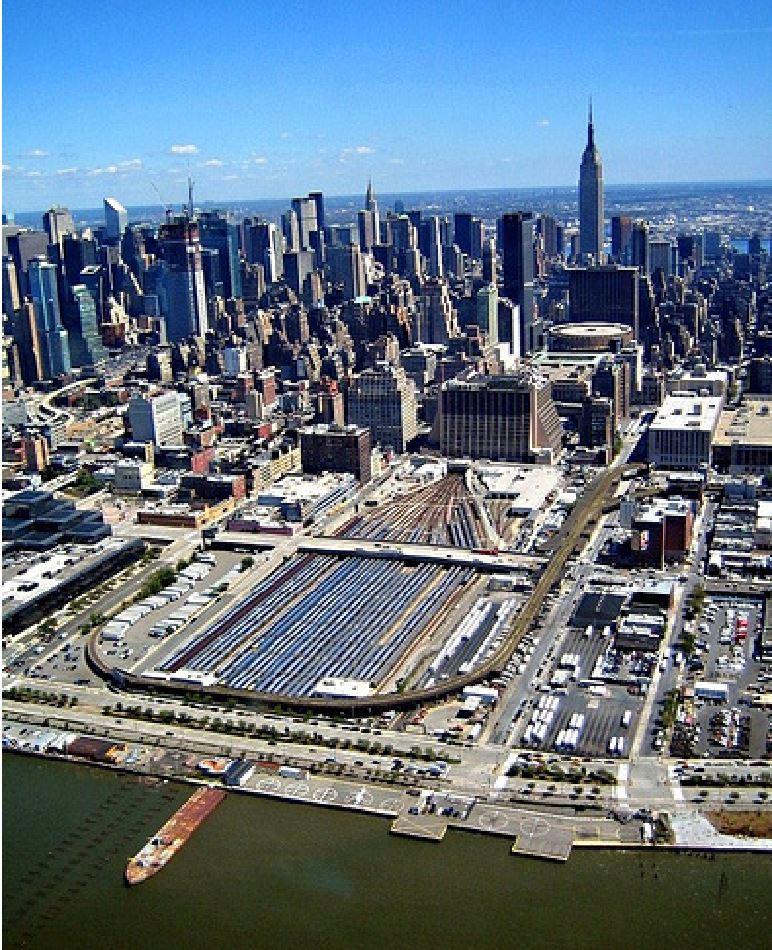 Hudson Yards circa 2004