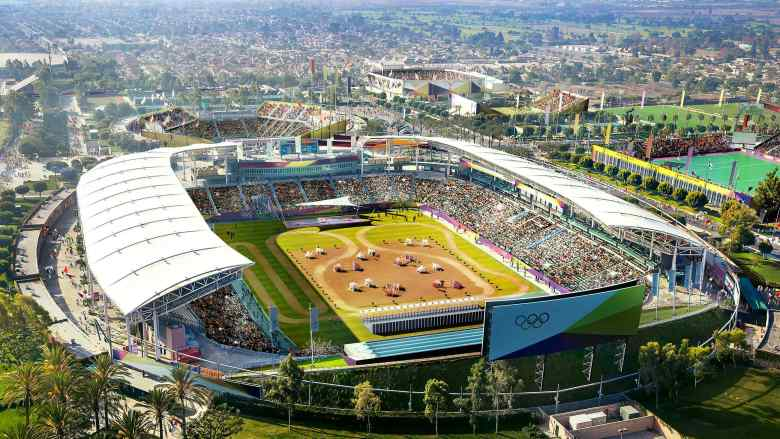 LA2024 Stubhub Center rendering for equestrian